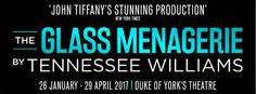 The Glass Menagerie tickets from £16.90. Olivier & Tony Award-winner John Tiffany's visionary staging of Tennessee Williams' masterpiece stars Broadway icon Cherry Jones at Duke of York's Theatre London