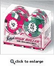 Casino Chocolate Poker Chips - 2 Row Set