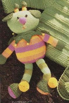 Isabelle Andréo Tricot: tuto poupée citronnelle