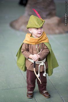 Little Robin Hood Costume pour mon petit Louis