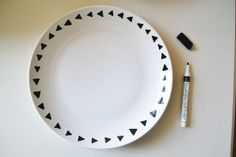 diy paint your own plates