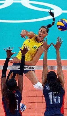 Jaqueline Maria Pereira de Carvalho Endres, brazilian volleyball player