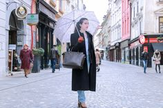 Fashion blogger Veronika Lipar of Brunette From Wall Street sharing what to wear this Tuesday