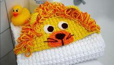 Kapüşonlu örgü bebek battaniye modelleri (3)