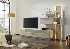 #möbel #madeingermany #furniture #gwinner #wohndesign #design #wohnzimmer  #livingroom #wallunit #wohnwand #lightning #lack #furnier #holz  #edelfurnier #glas ...