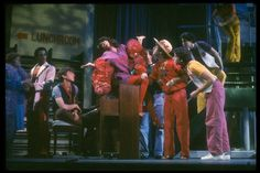 Merrily We Roll Along.  Original Broadway Cast from 1981.
