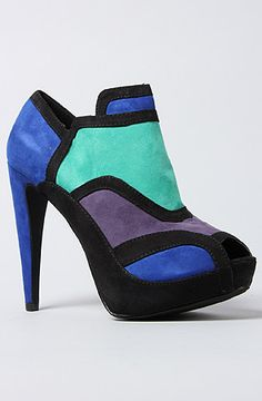 The Halle Shoe in Black Multi by *Sole Boutique
