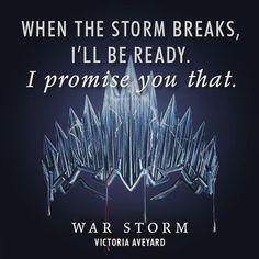 47 days until WAR STORM. ⚡️