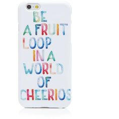 Otm iPhone 6 Case - Fruit Loop (43 CAD) ❤ liked on Polyvore featuring accessories, tech accessories, phone cases, phone, tech and cases