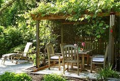 Add some structure to your backyard. Find out how on our blog: https://www.onekingslane.com/live-love-home/ideas-for-urban-gardens/