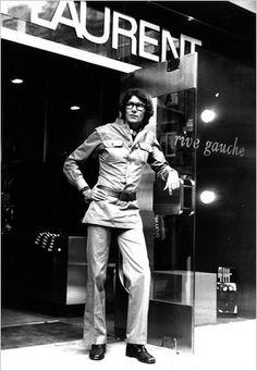 safari jacket 70's ysl