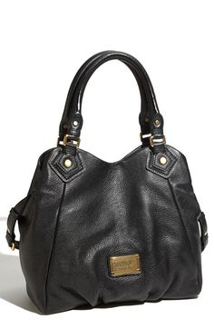 MARC by Marc Jacobs 'Small Classic Q Fran' Shopper Black One Size