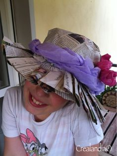 Crealandia: Cappelli di carta