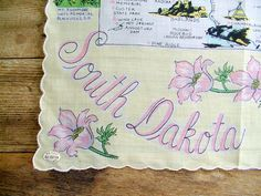 Road Trip vintage 1950s SOUTH DAKOTA  by varietyvtgclothing, $26.00