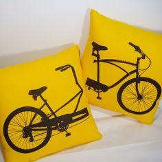 #bicycle pillows!