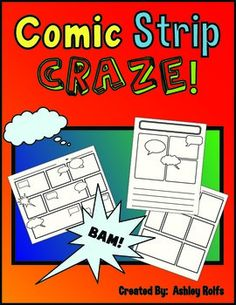 Sequencing-Comic Strip Craze! Science Centers, Science Topics, Science Lessons, Teaching Science, Teaching Ideas, Writing Comics, Types Of Sentences, First Grade Reading, French Teacher