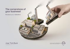 ATB Microloans Keyvisual on Behance