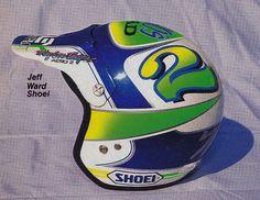 1988 Troy Lee Designs Shoei Helmet of Jeff Ward | Flickr - Photo Sharing!
