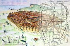 Roman Architecture, Historical Architecture, Ancient Architecture, Barcelona, Medieval, Ancient Civilizations, Archaeology, Celtic, City Photo