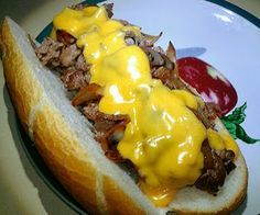 Authentic Philly Cheesesteak - Allthecooks.com