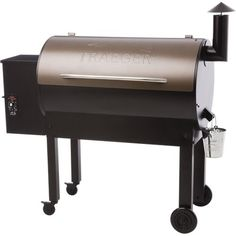 Traeger Texas Elite 34 BBQ Grill   Transform your patio into the barbecue hot spot with the new Texas Elite 34 grill; it's got brawn and brains. We've upgraded the legs and wheels for stability, and t