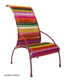 Katran High Back Chair