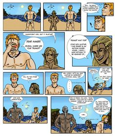 Zevran approves by ~strunza on deviantART  Oh my Golly gee willickers, that's so Zevran.