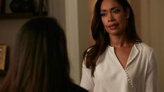 """Jessica (Gina Torres) in season 6, episode 9 of Suits, """"The Hand That Feeds You."""""""