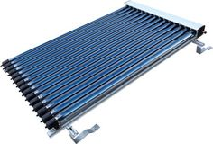 Duda Solar 25 Tube Water Heater Collector Slope Roof Frame Evacuated Vacuum Tubes SRCC Certified Hot - This was exactly what I needed.This Duda S Thin Film Solar Panels, Solar Energy Panels, Solar Panels For Home, Best Solar Panels, Colorado Springs, Solar Power Inverter, Solar Water Heater, Solar Roof, Solar Projects