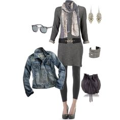 casual, created by jensenliz on Polyvore