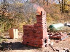 Wood fired kiln 2