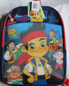 Disney Jake and the Neverland Pirates backpack for $26.94... Wish I would of found this one first!!!