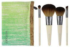 EcoTools 5 Piece Travel Brush Set (Packaging May Vary) Ec...