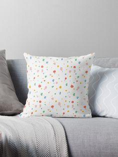 Dots Design, Printed Cushions, Cactus Print, Blue Christmas, Designer Throw Pillows, Pillow Design, Bed Pillows, Prints, Color
