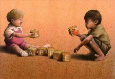 Polonyalı sanatçı Pawel Kuczynski, gündelik yaşamın sorunlarını düşündürücü imgelerle çizen usta bir karikatürist. Çizimlerinde öncellikle yoksulluk, sosyal medya, adalet ve siyaset gibi konuları işliyor. Eğer yakından bakarsanız hepsinin çok farklı  bir mesajı olduğunu göreceksiniz....