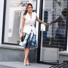 look style fashion streetstyle  chanel skirt vest
