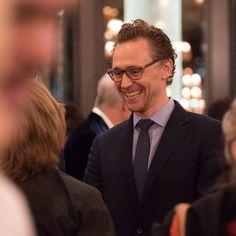 Tom Hiddleston at the Young Marx press night at The Bridge Theatre in London, UK, on October 26, 2017. Source: https://www.facebook.com/bridgetheatrelondon/photos/pcb.2389081281318004/2389079404651525/?type=3&theater