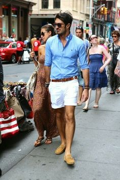 Great look for your man while on vacation