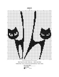 Cat theme in jacquard, patterns. Discussion on LiveInternet - Russian Service Online diary Fair Isle Knitting Patterns, Knitting Charts, Cross Stitch For Kids, Cross Stitch Animals, Cross Stitch Silhouette, Funny Cross Stitch Patterns, Crochet Chart, Cross Stitch Embroidery, Pixel Art