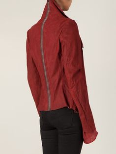 Isaac Sellam Experience Back Spine Zip Detail Jacket - The Library - Farfetch.com