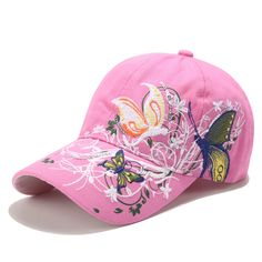 Fashion Roses Men Women Baseball Caps Spring Summer for Women Solid Cap Embroidery Duck Tongue Hat