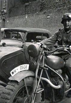 Motor dispatch rider