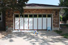 tutorial garage door painted