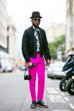 e56a19a9a00 Well put together N pink pants London Mens Fashion