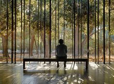 Press kit | 2112-02 -The Windhover Contemplative Center, designed by Aidlin Darling Design, is a spiritual retreat on the Stanford campus to promote and inspire personal renewal. #architecture #design #retreat