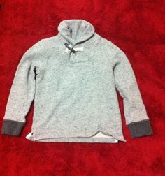 Keep your little man cute & snug  Boys Crewcuts By J. Crew Shawl Marbled Toggle Collar sweater