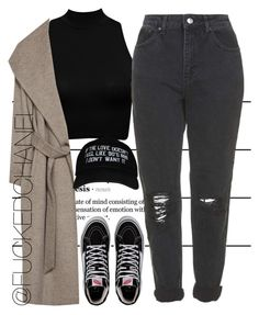 . by fuckedchanel on Polyvore featuring polyvore fashion style Zara Topshop Vans Forum women's clothing women's fashion women female woman misses juniors