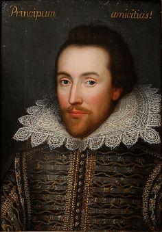 The Cobbe Portrait of William Shakespeare, ca. 1610
