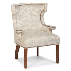 Transitional Tight Wingback Chair $1600