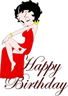 Resultado de imagen para betty boop happy birthday images